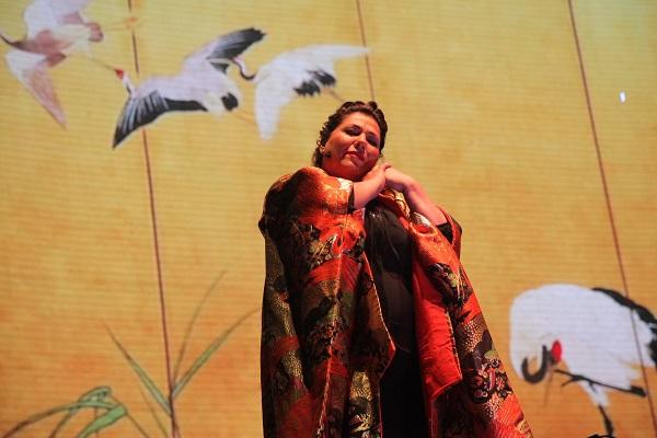 Momentos de la ópera en parque Araucano