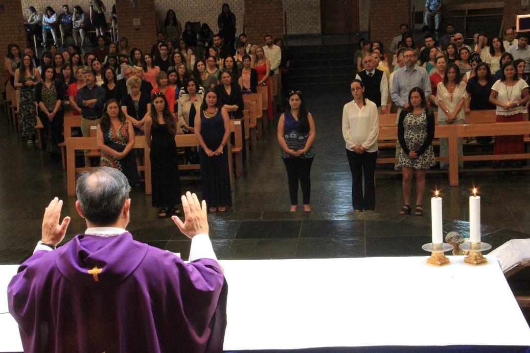 La Misa se realizó en la Parroquia Nuestra Señora del Rosario
