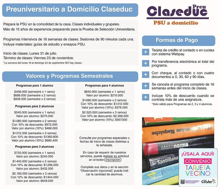 Flyer Claseduc