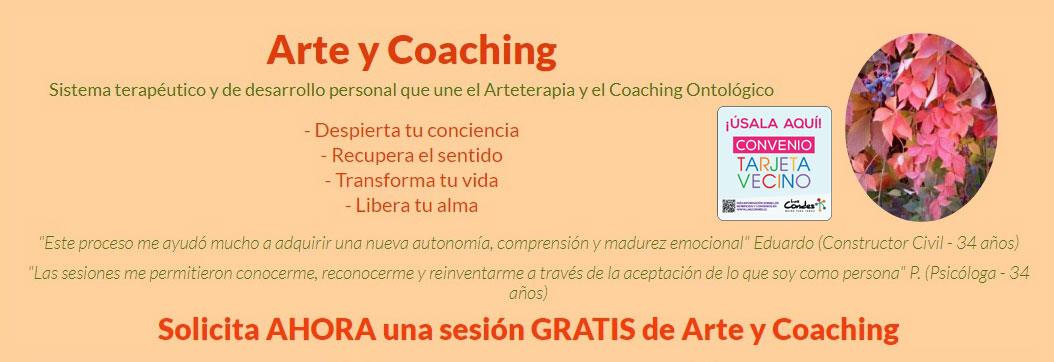 arte y coaching flyer