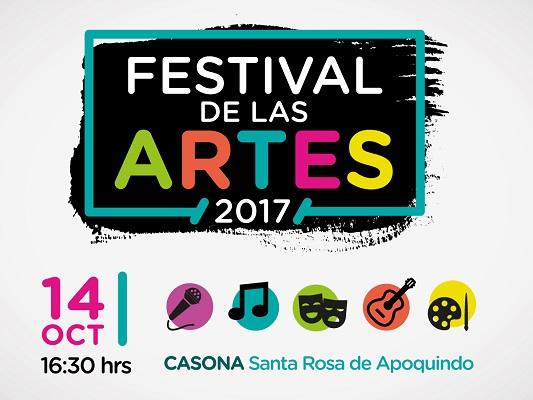 Todos invitados al primer Festival de las Artes