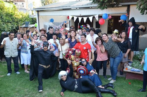 Todos disfrutaron la entretenida fiesta!