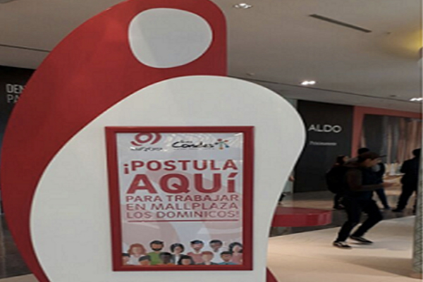 Postula en www.trabajaenmallplaza.lascondes.cl.