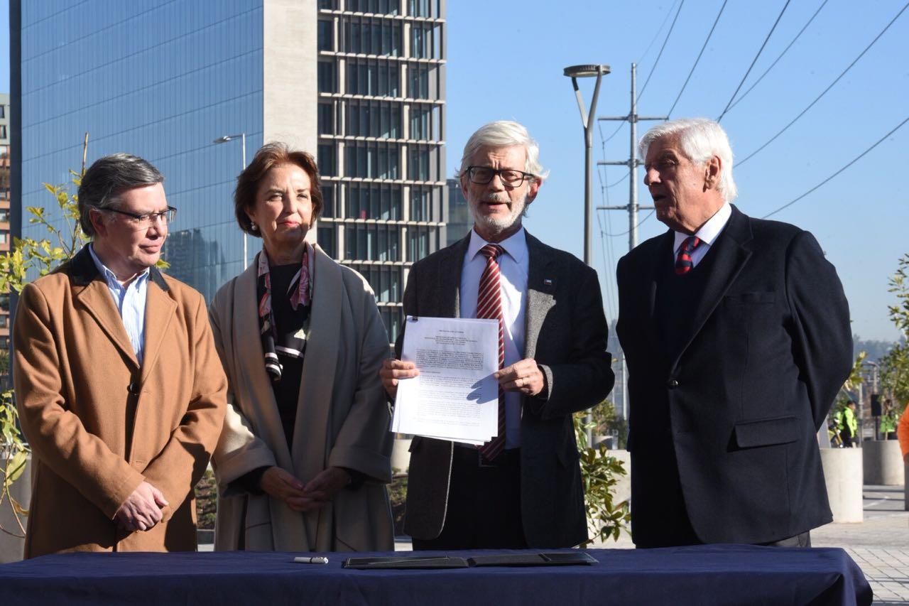Firma de acuerdo AVO I