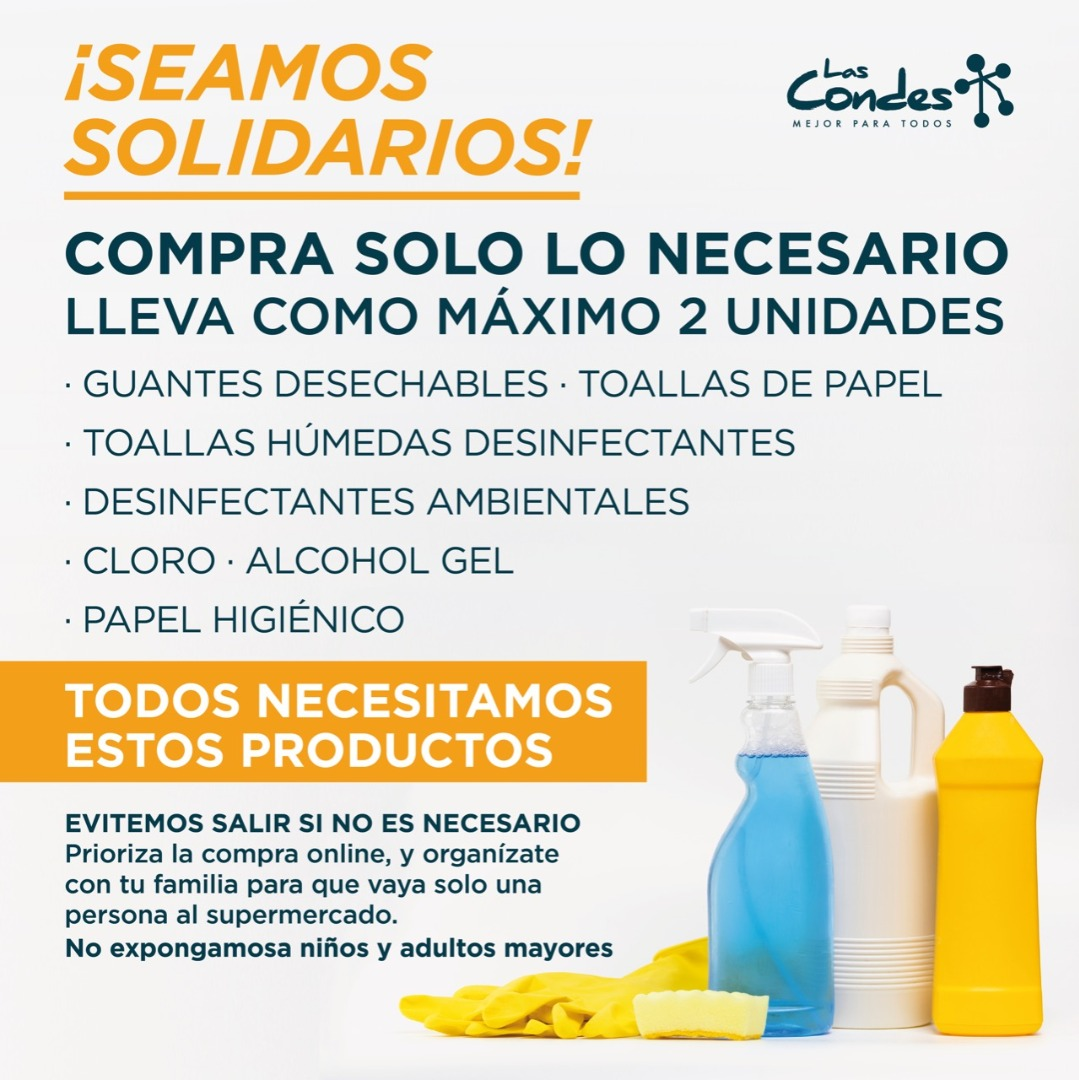 Campaña #SeamosSolidarios