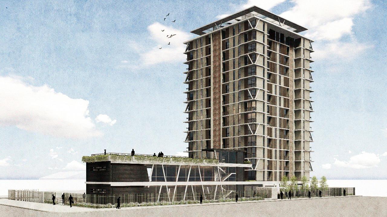 Proyecto viviendas sociales Rotonda Atenas