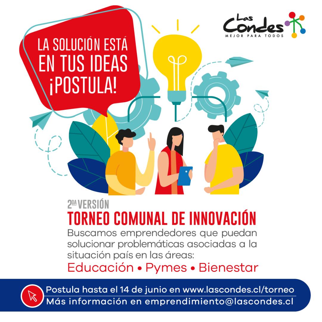 2do Torneo Comunal de Innovación: Soluciones para el Chile de hoy