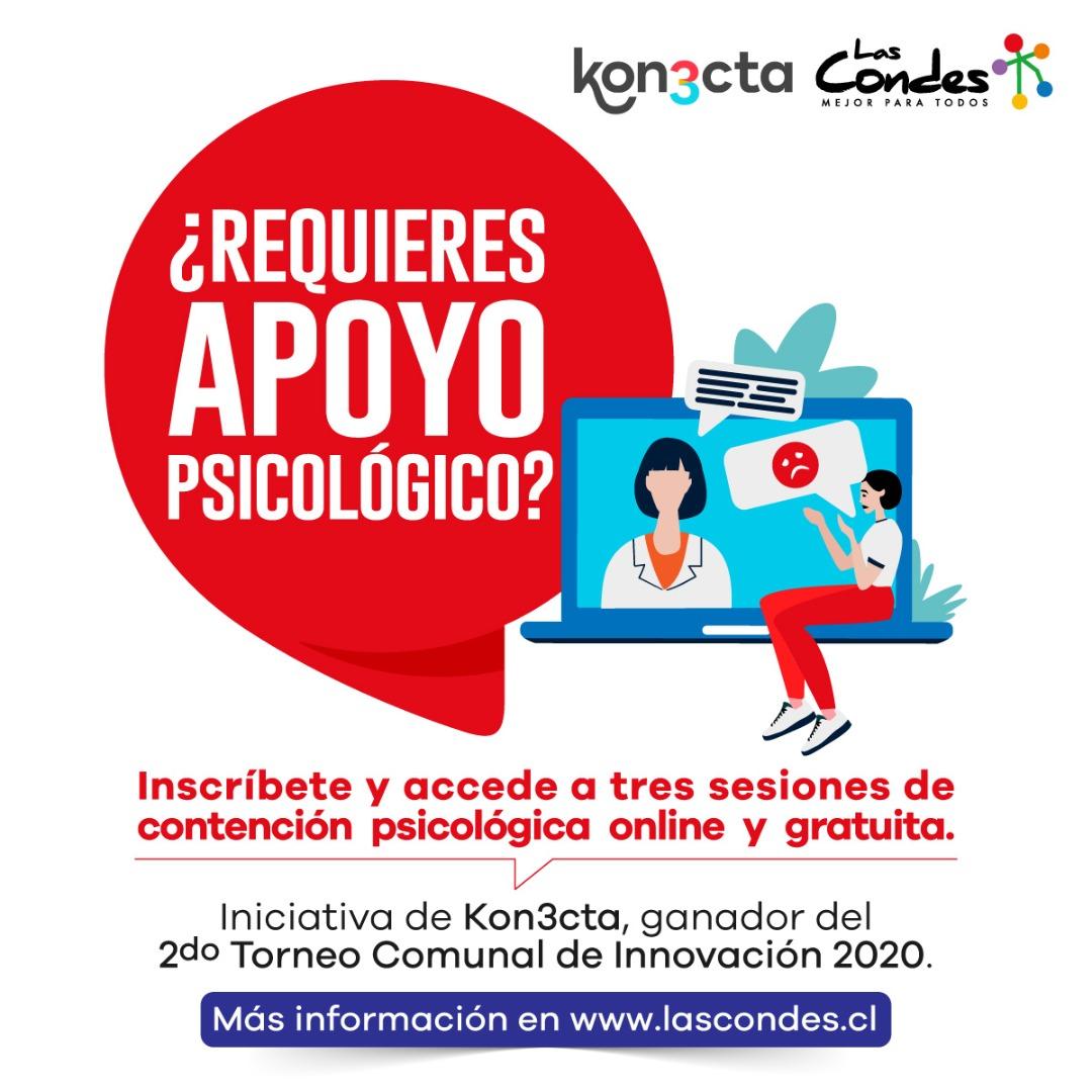 Contención psicológica online y gratuita