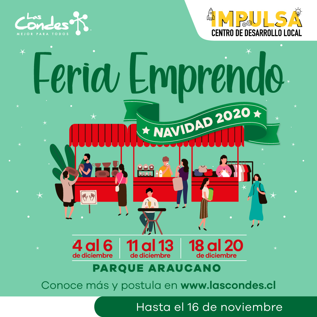 Feria Emprendo Las Condes Navidad 2020