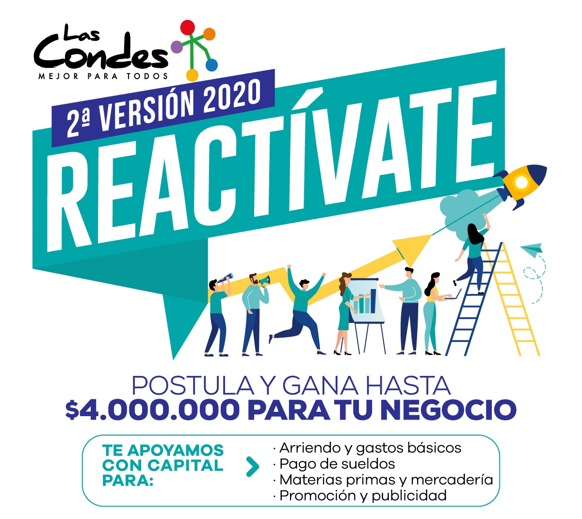 Reactívate, 2da versión 2020