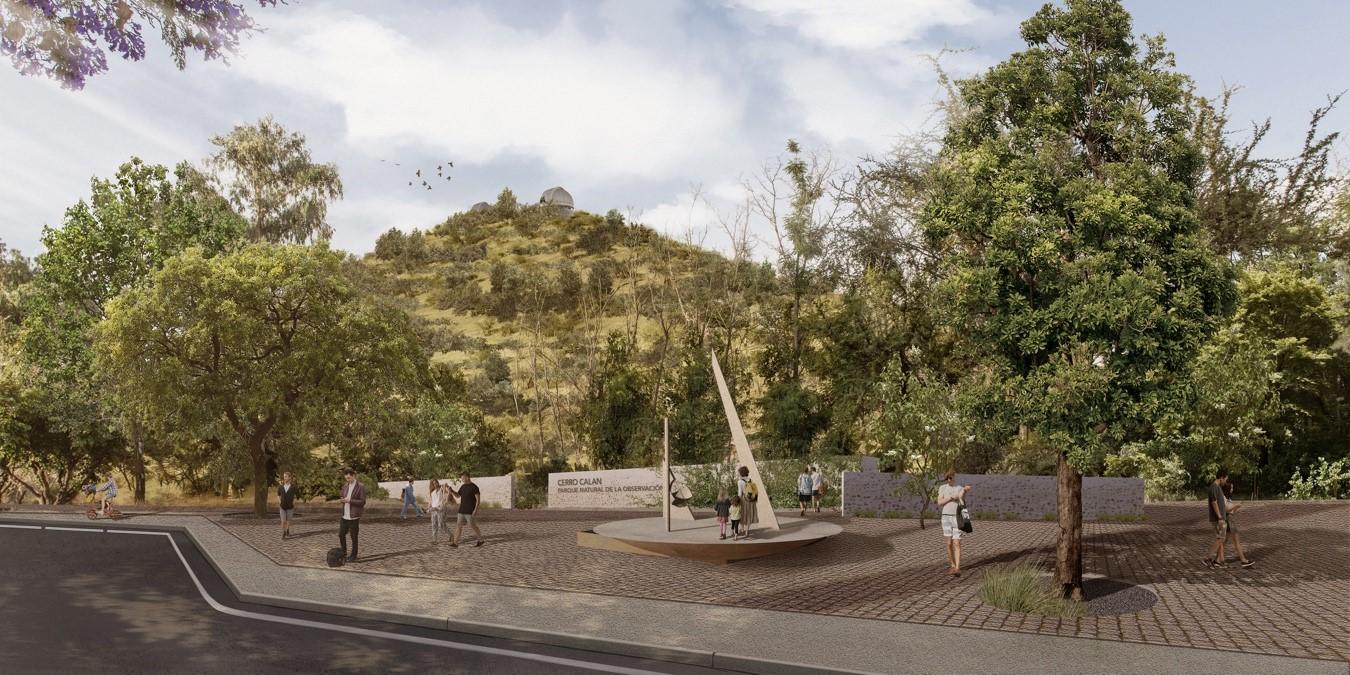 Parque Observatorio Cerro Calán