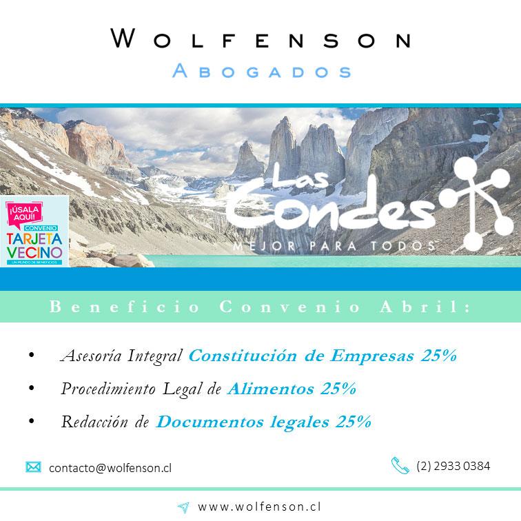 WOLFENSON ABOGADOS PROMO