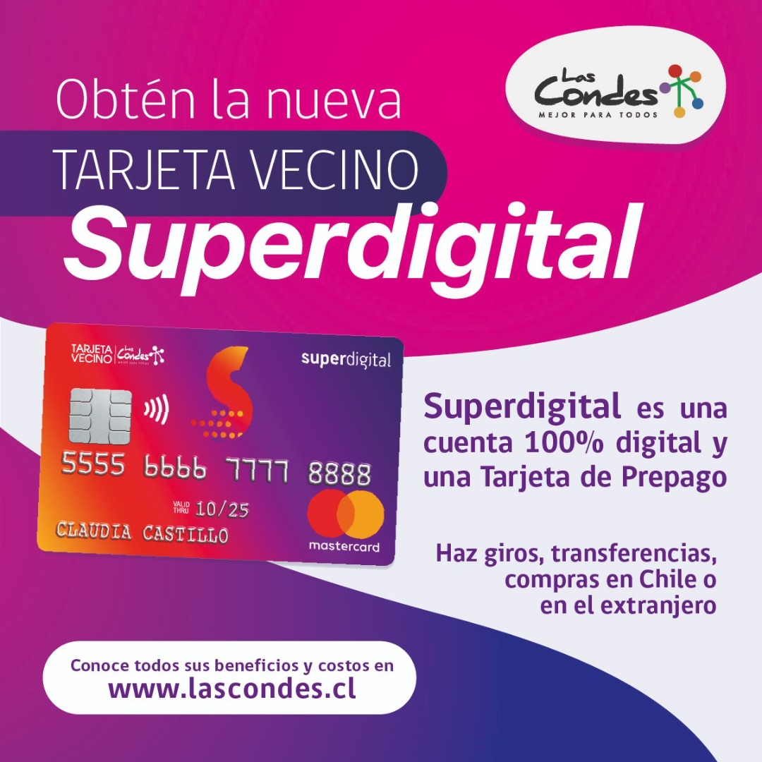 Tarjeta prepago Superdigital