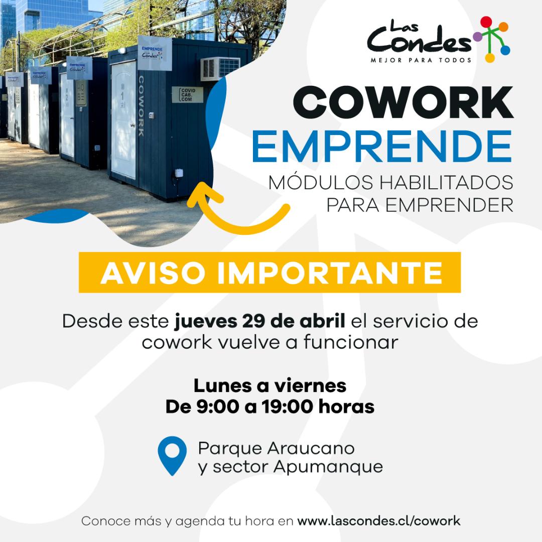 Cowork Emprende Las Condes