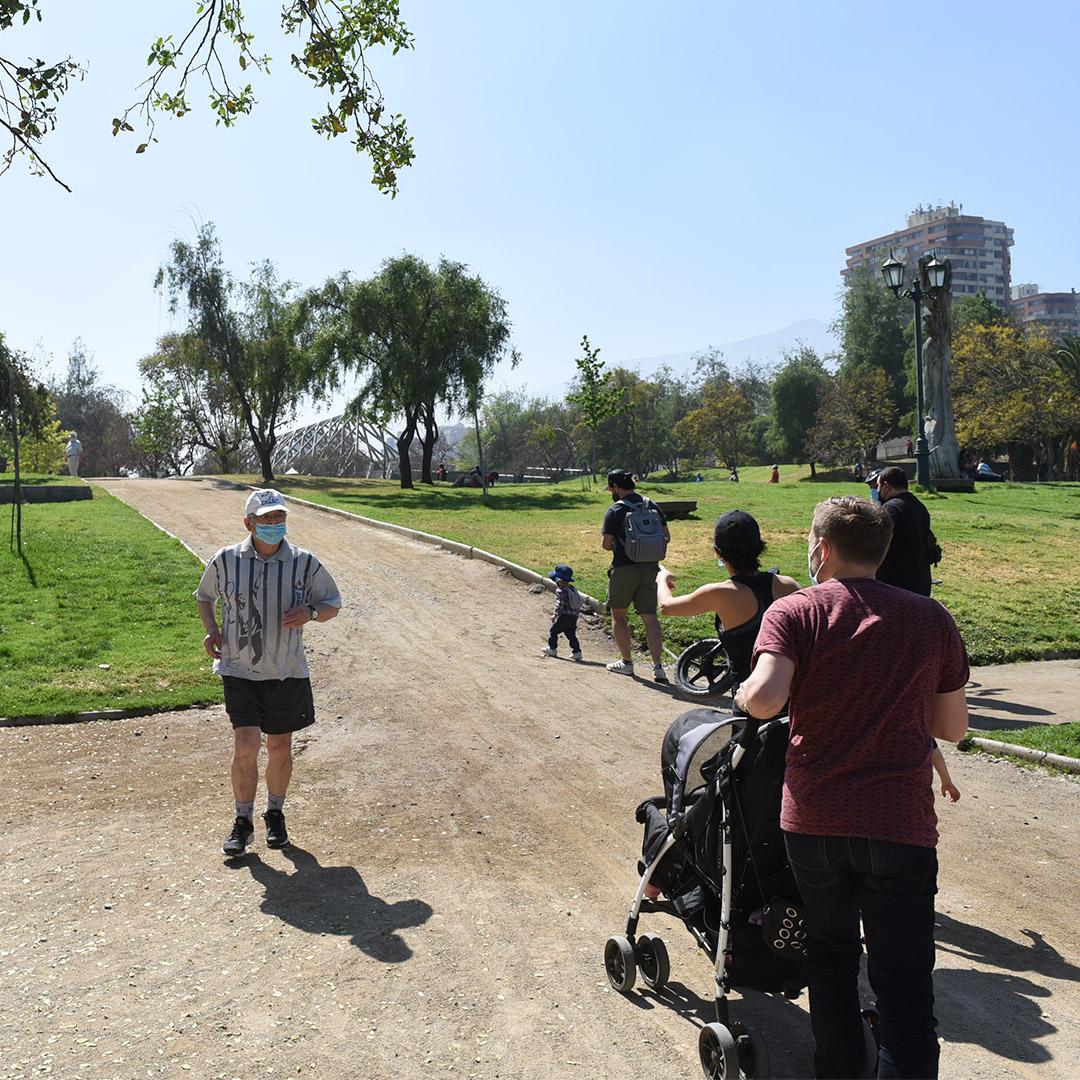 Nuevos horarios para parques de la comuna