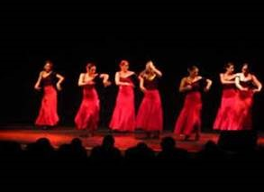 Espectaculo Flamenco para adultos mayores de Las Condes