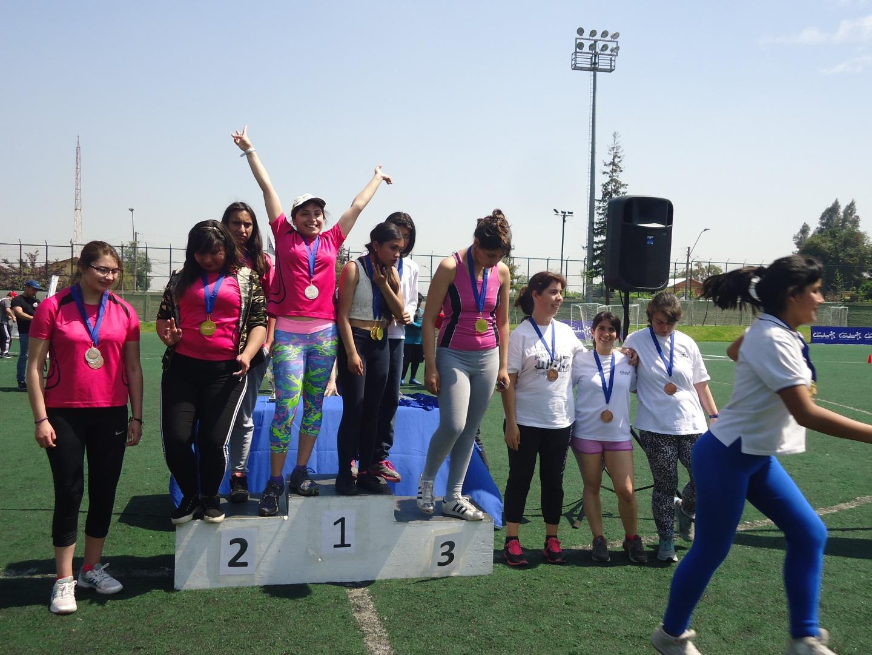 Premiación Olimpiadas del 5 de octubre