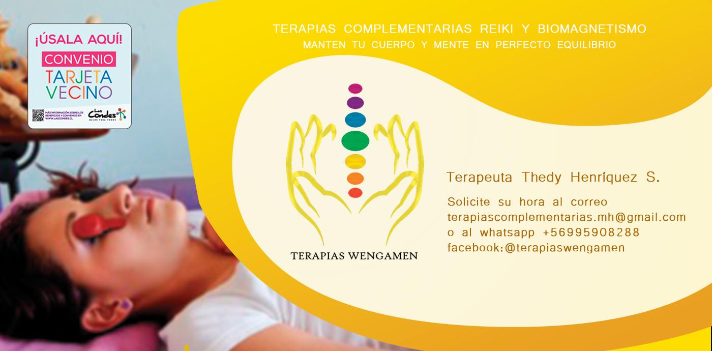 TERAPIAS COMPLEMENTARIAS INTEGRALES WENGAMEN PROMO
