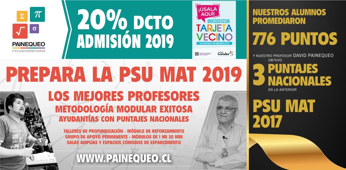 PREUNIVERSITARIO PAINEQUEO PROMO