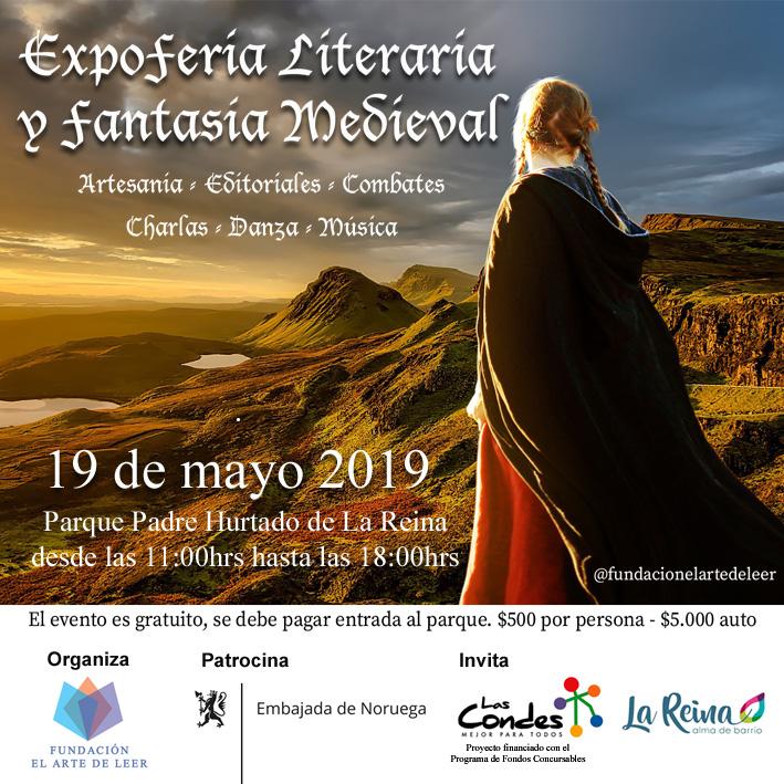Expoferia Literaria y Fantasía Medieval