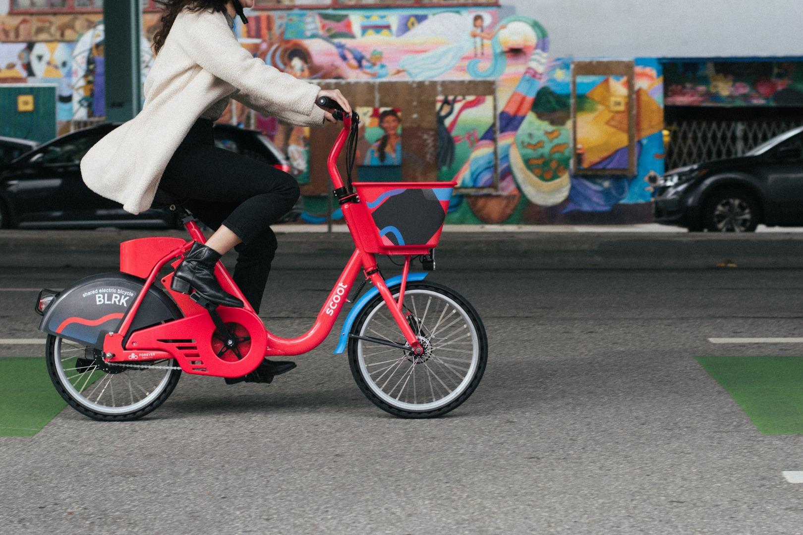 Nuevas bicicletas eléctricas en la comuna