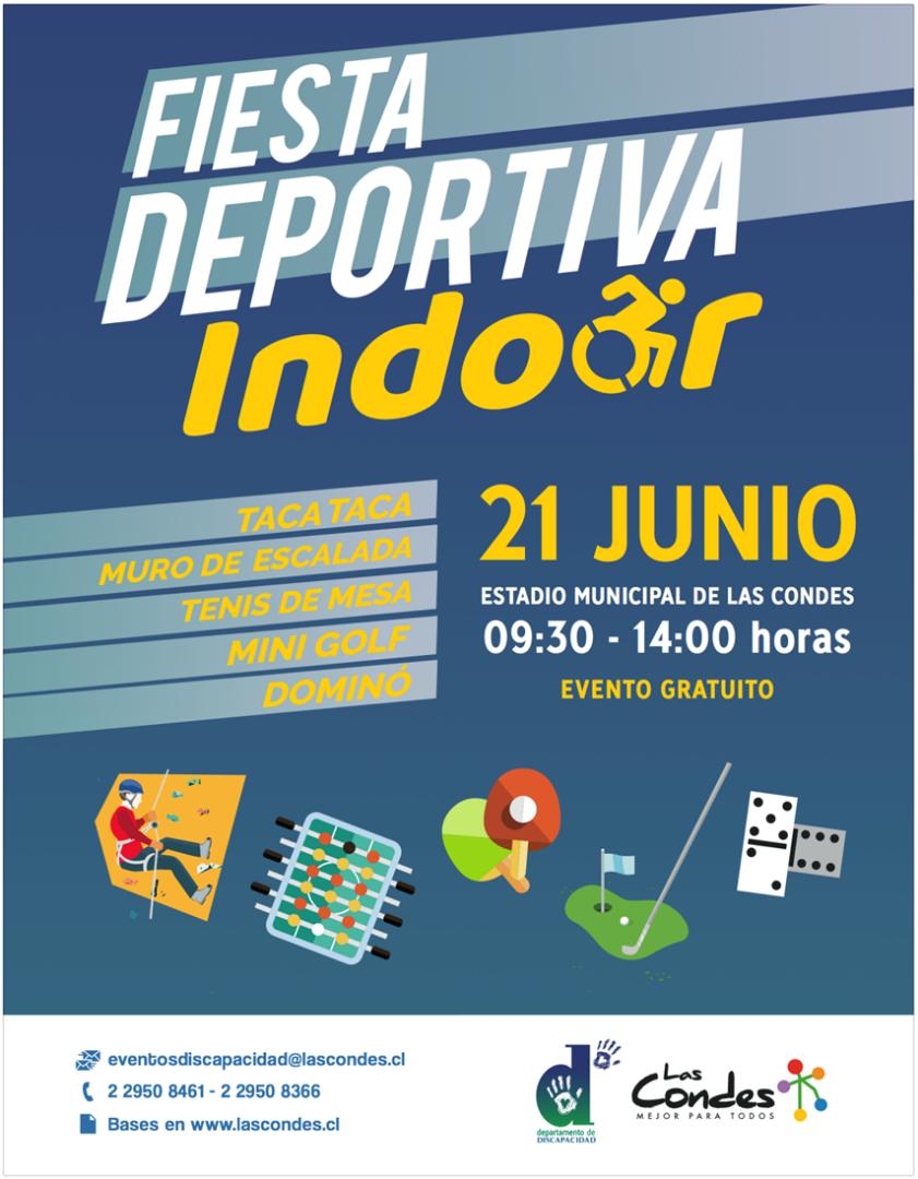 Fiesta deportiva indoor 2019