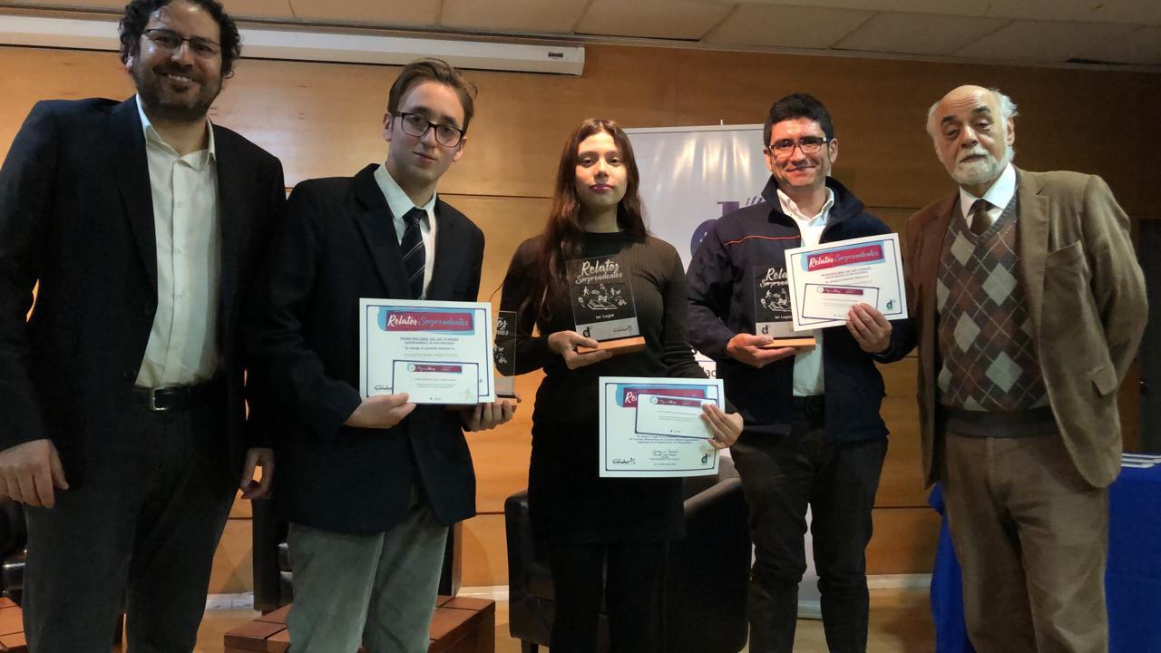 Ganadores Concurso Metropolitano de Literatura 2019, categoría Quijote