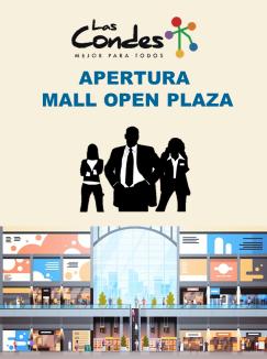 Empleos para próxima apertura de Open Plaza